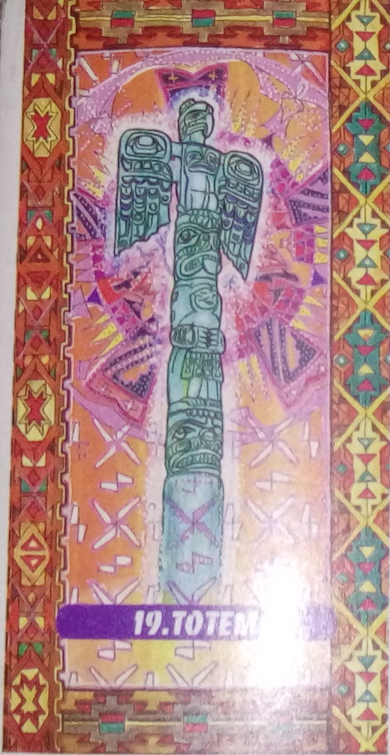 Tarot indien Lame 19 Totem