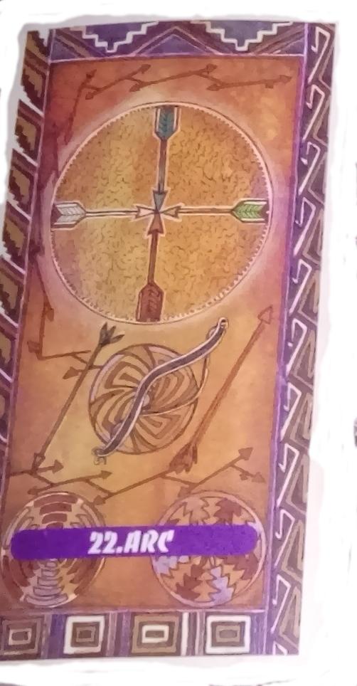 Tarot indien Lame 22 Arc