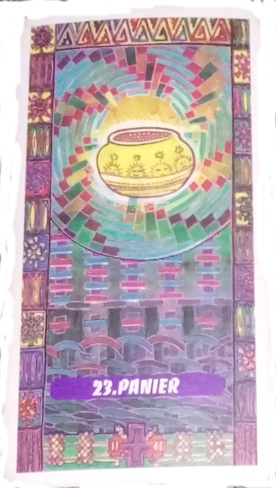 Tarot indien Lame 23 Panier