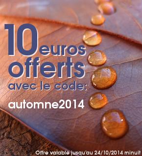 10 euros offerts sur Avigora